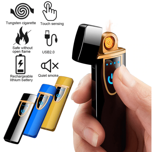 USB Charging Lighter Touch Screen